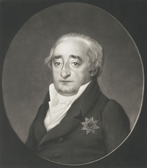 Stein as retired Minister of State 1814