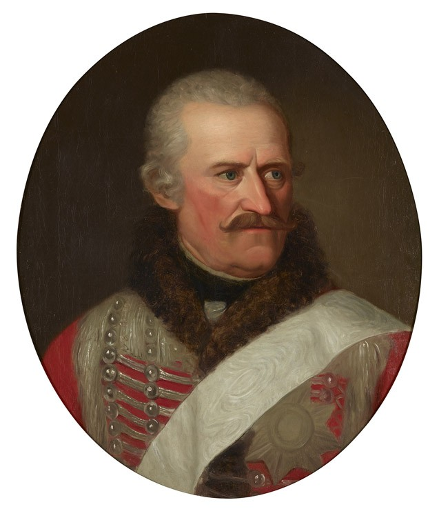 Hussar General Blücher as Prussian Governor in Münster