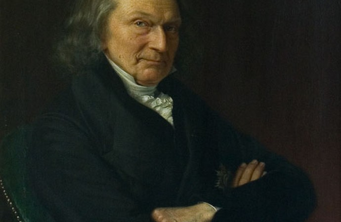 Portrait of Father of the House Christoph Wilhelm von Sethe